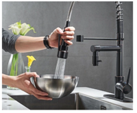 What Is Kitchen Faucet with Sprayer Swivel Type